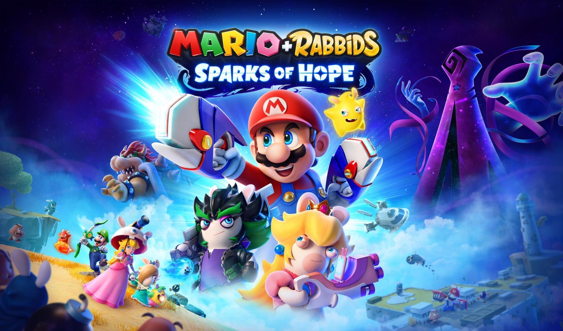 MARIO + RABBIDS® SPARKS OF HOPE ขอเชิญชวนคุณสู่การผจญภัยที่ยิ่งใหญ่ระดับจักรวาล